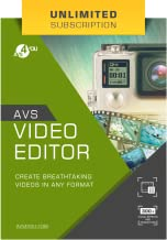 AVS Video Editor - Unlimited Subscription [Online Code]