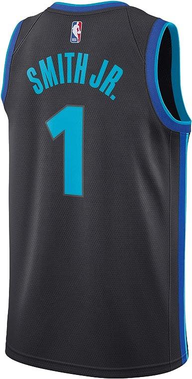 Amazon.com: Dennis Smith Jr Dallas Mavericks #1 Gray Official ...
