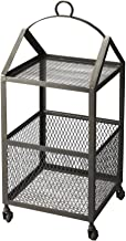 Butler Specialty Company 2880330 Trammel Industrial Chic Chairside Table,