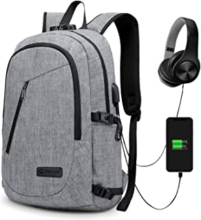 Anti-theft Business Laptop Backpack With USB Charge Port ,Lightweight Outdoor Waterproof Travel College Backpack Q-002