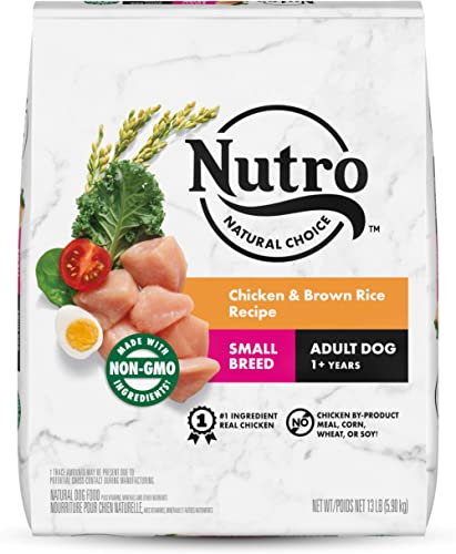 Nutro Natural Choice Adult & Senior Dry Dog Food for Small & Toy Breeds