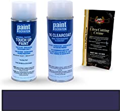 PAINTSCRATCH True Blue Pearl BU/KBU for 2018 Dodge Ram Series - Touch Up Paint Spray Can Kit - Original Factory OEM Automotive Paint - Color Match Guaranteed