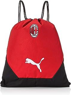 PUMA Gym Sack AC Milan Final 2020-2021, Bolsa, Black-Tango Red