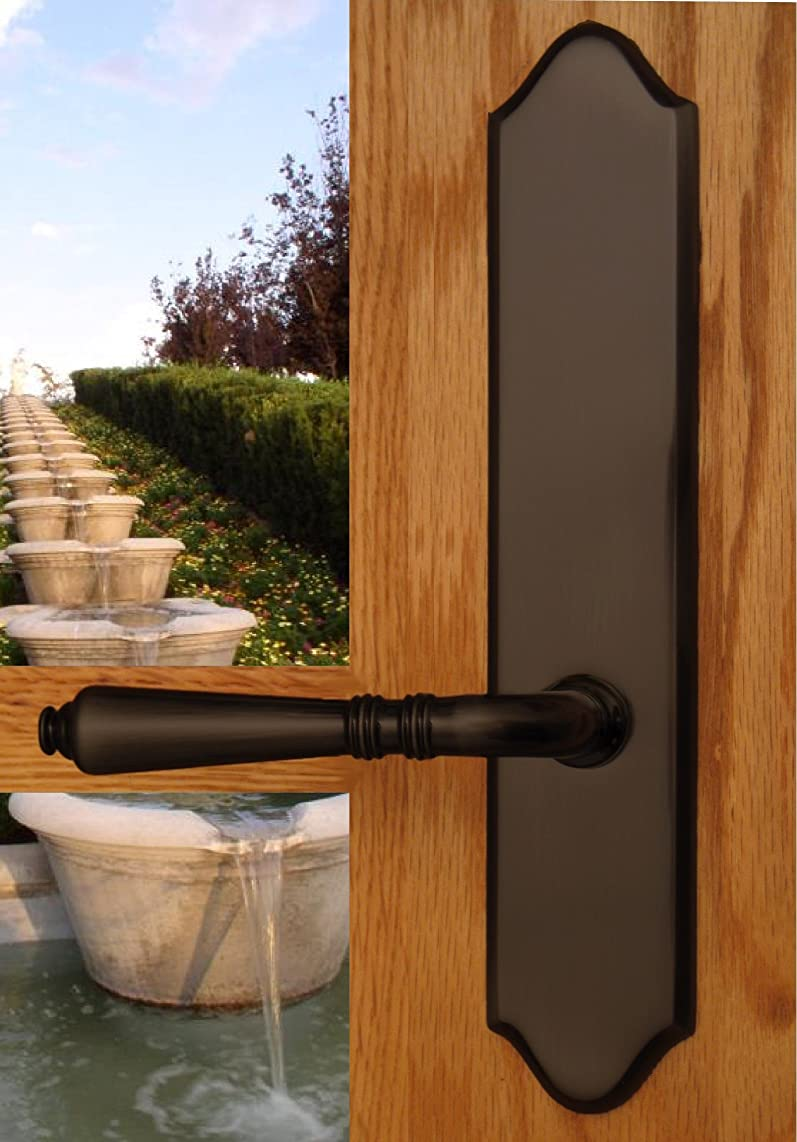 Bellagio by FPL- Solid Brass Half Dummy Lever Set, Oil Rubbed Bronze