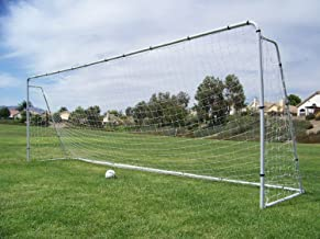 24' X 8' X 5' Large Huge Steel Soccer Goal w/ Quality Net. New Portable Training Aid. Regulation Fifa Size Goals. 24 X 8 Official Size. MLS 24x8, Free Extra Net Included- $39 Value.