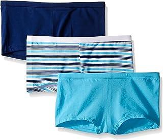 Hanes Women's Cool Comfort Cotton Boyshort Panty (Pack of 3)