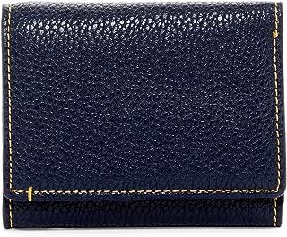 Robert Graham Capua Leather Trim Bi-Fold Wallet Navy