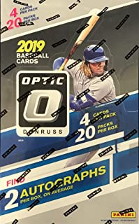 2019 PANINI Donruss Optic Baseball Factory Sealed Hobby Box