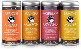 Tooty Fruity Variety Tea Pack Four Pack of Fruit Insipired Teas: All-natural.