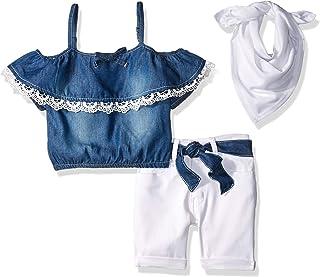 مجموعة ملابس علوية قصيرة وأنيقة للفتيات من Limited Too