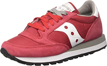 saucony rosse e bianche