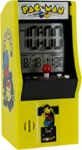Paladone Pac Man Alarm Plays Official Game Sounds   Use Arcade Buttons to Set Clock   LCD..