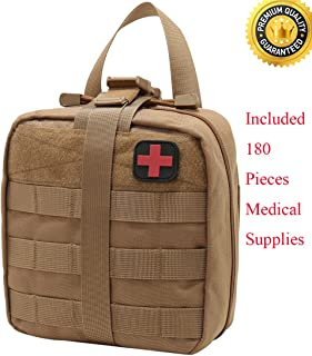 Carlebben Rip-Away EMT Pouch Molle Pouch Ifak Pouch Medical First Aid Kit Utility Pouch 1000D Nylon