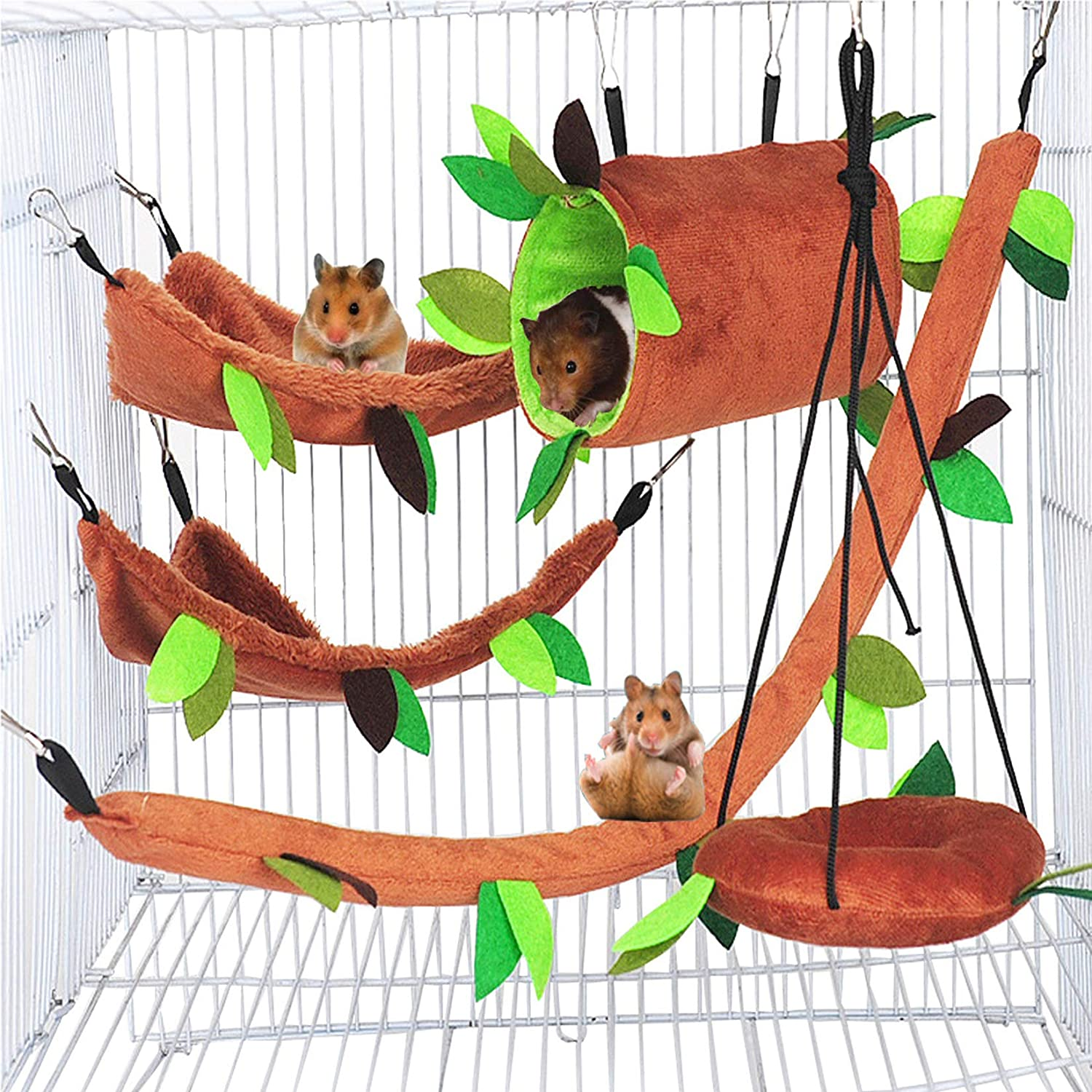 Hamiledyi Hamster Hammock Small Animals House Selling and selling Hanging R Bed Inexpensive Warm