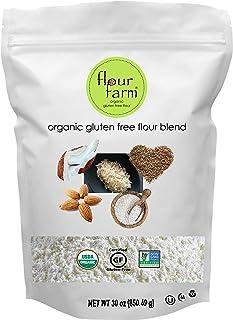 Organic Gluten Free Flour Blend - All Purpose Flour made with 5 Organic GF Ingredients - Sweet Rice Flour, Brown Rice Flou...