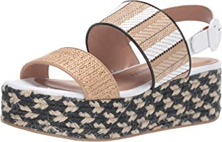 Chinese Laundry Women's Zuzu Espadrille Wedge Sandal, natural/tan, 6.5 M US