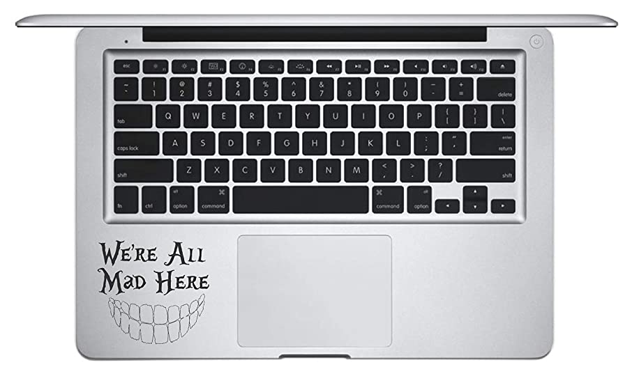 Laptop Notebook Sticker Decal Skins - We're All mad here Skins Stickers