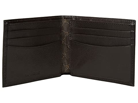 Portfolio Slim Perry Ellis Michigan Marrón Bifold TFw57w