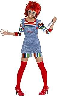 Smiffy's - Disfraz de chucky para mujer, talla S (39099S