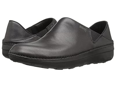 FitFlop Superloafer Leather (All Black) Women
