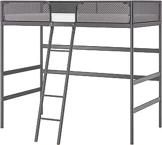 IKEA Tuffing Loft Bed Frame, Dark Gray