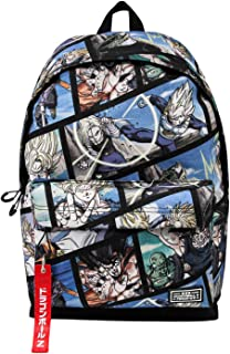 Dragon Ball Frames-Mochila Freetime HS 1.1, Multicolor
