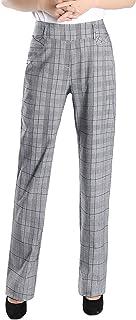 Foucome Dress Pants for Women- Bootcut Stretch High Waist...