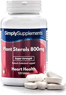 Plant Sterols 800mg   120 Tablets = 4 Month Supply   Potent