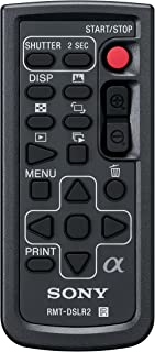 Sony RMTDSLR2 Wireless Remote for Alpha & NEX, (Black)