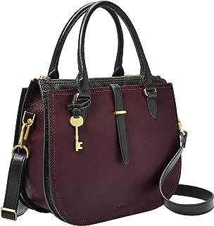Fossil Ryder Leather 30.48 cms Purple Gym Shoulder Bag (ZB7807503)