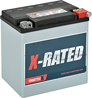 THROTTLEX HDX30L - MADE IN AMERICA - Harley Davidson Replacement Motorcycle Battery