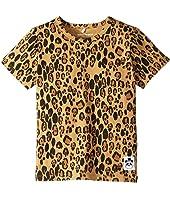 mini rodini - Basic Leopard Short Sleeve Tee (Infant/Toddler/Little Kids/Big Kids)