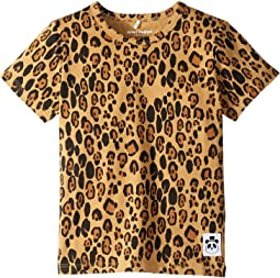 Basic Leopard Short Sleeve Tee (Infant/Toddler/Little Kids/Big Kids)