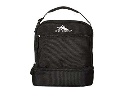 High Sierra Stacked Compartment Bag (Black) Bags