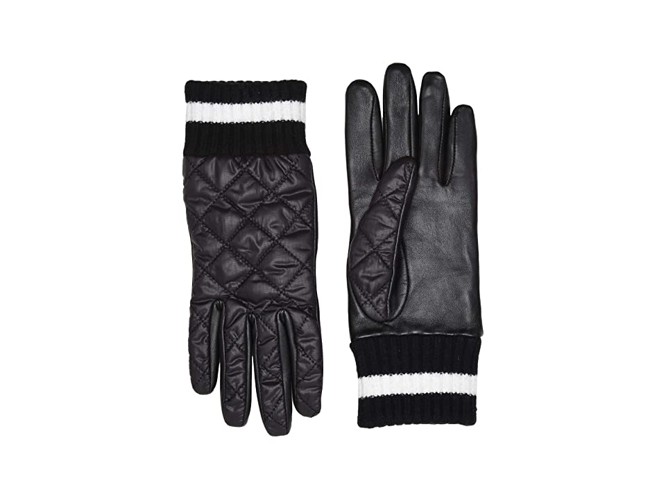 UGG Varsity All Weather Water Resistant Tech Gloves (Black Multi) Extreme Cold Weather Gloves