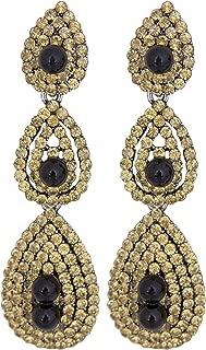 Gatsby Earrings Vintage 1920s Drop Chandelier Flapper Jewelry Accessories