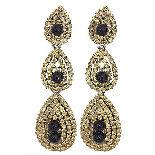 abc964fae Vijiv Gatsby Earrings Vintage 1920s Drop Chandelier Flapper Jewelry  Accessories