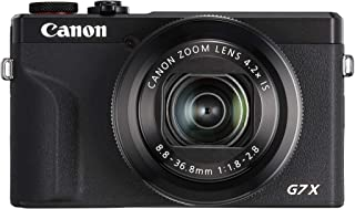 Canon Powershot Digital Camera Canon PowerShot G7X Mark III Digital Camera, Black (G7XIIIBK)