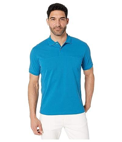 SWIMS Breeze Polo (Seaport Blue) Men