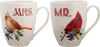 Lenox 863973 Winter Greeting 2-Piece Mr. & Mrs. Mug Set