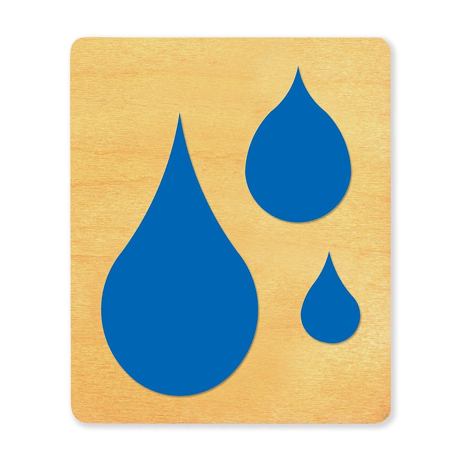 Ellison SureCut Die, Raindrops, Large qfttuavahqjwrl