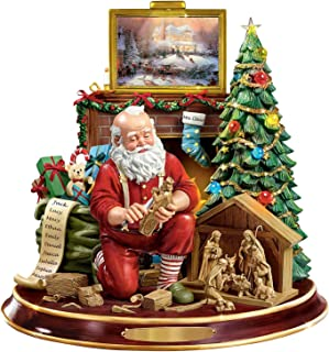 doublesmt Christmas Window Paste Stickers Christmas Tree Rotating Sculpture Train Decorations Paste Window Paste Stickers ...