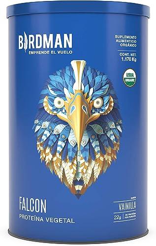 Birdman Falcon Protein Proteina Vegetal USDA Organica En Polvo (Vegana), 22gr Proteina, Sin inflamacion, Sin acne, 39...