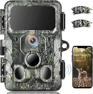 4K Native WiFi Trail Camera - 30MP Wildlife Camera with...
