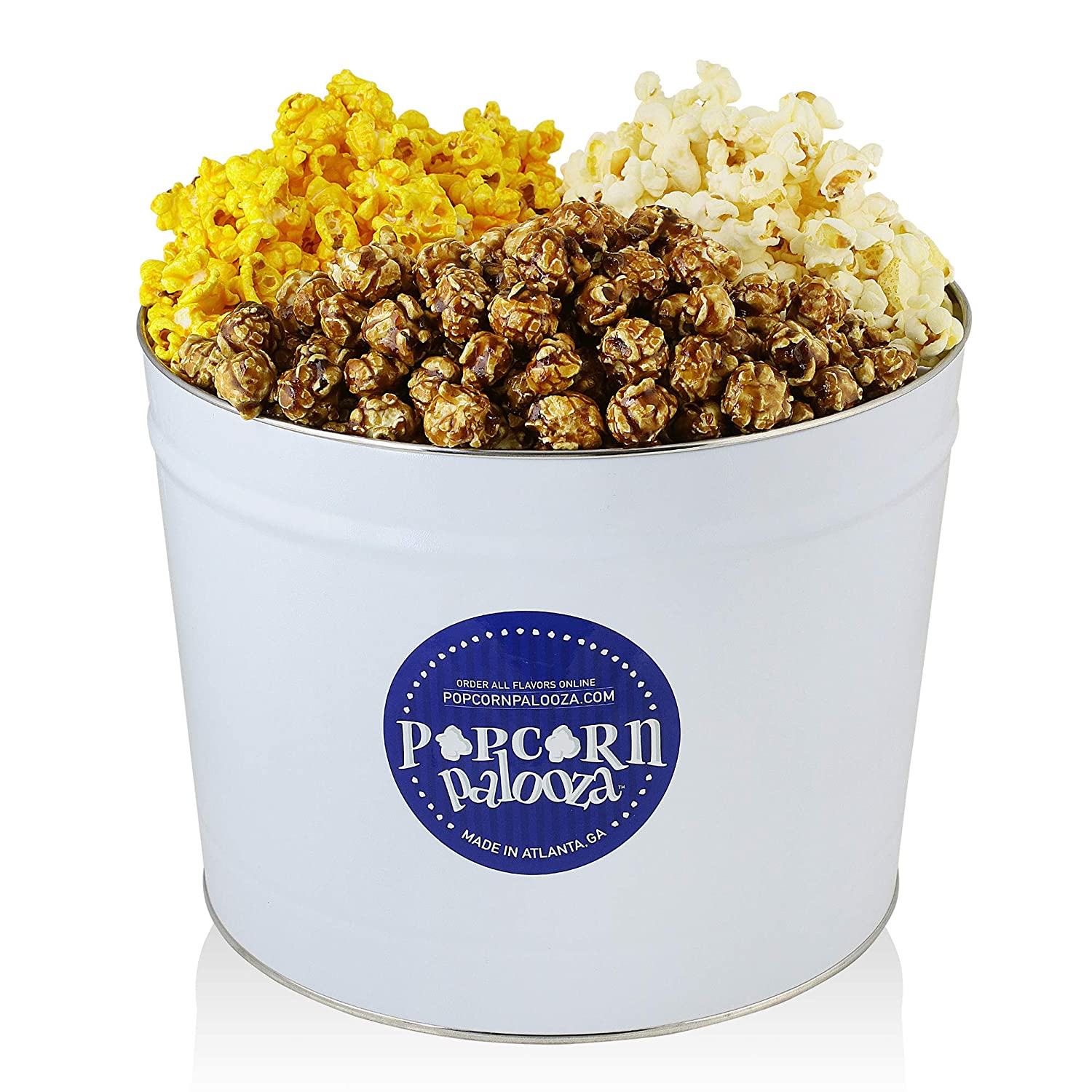 Popcorn Palooza Gourmet Discount is also underway Tin - Chicago Cheese 2 S Import Gallon