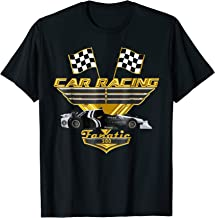 Car Racing Fanatic 500 miles T-Shirt - Golden Edition