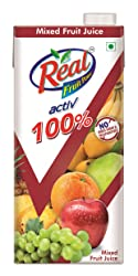 Dabur Real Activ Mixed Fruit 1L - No Added Sugar