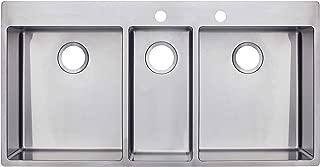 Franke HFT4322-2 Sink, Stainless Steel