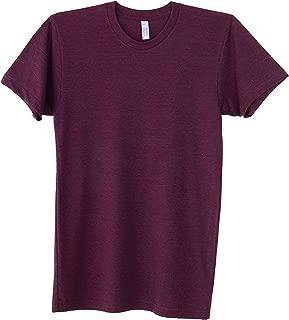 Unisex Men's Tri-Blend Short Sleeve Crewneck Track T-Shirt