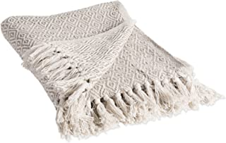 DII Rustic Farmhouse Cotton Diamond Blanket Throw with Fringe For Chair 710e90cfd